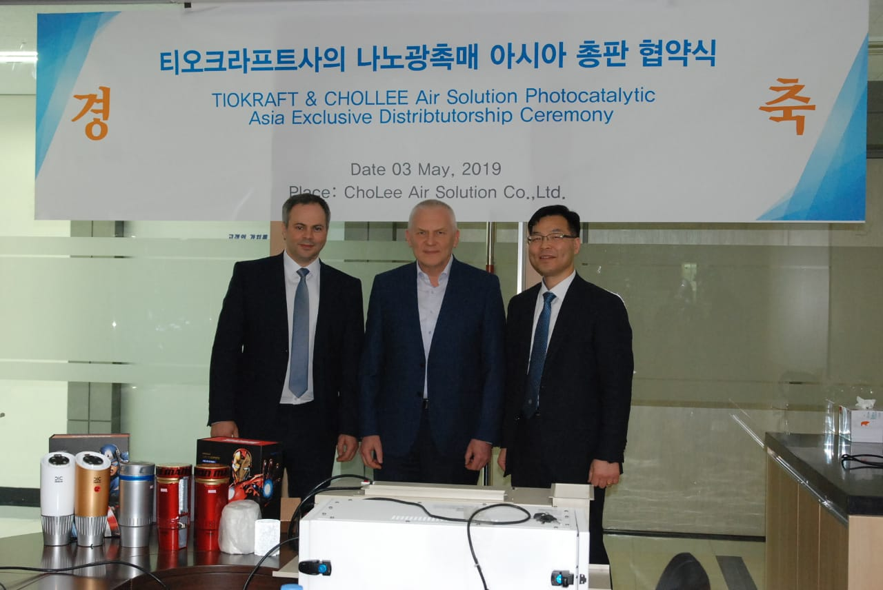 Cholee Air Solution has been appointed the exclusive distributor of Tiokraft products in the region of Korea, China and ACEAN.